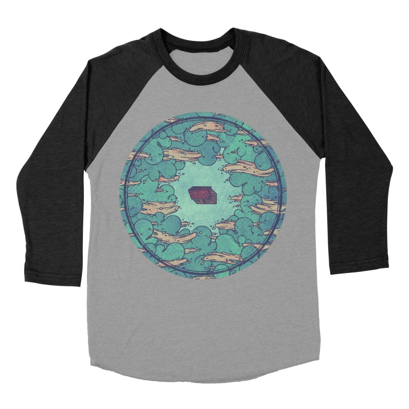 Away From Everything Men's Baseball Triblend T-Shirt by againstbound's Artist Shop