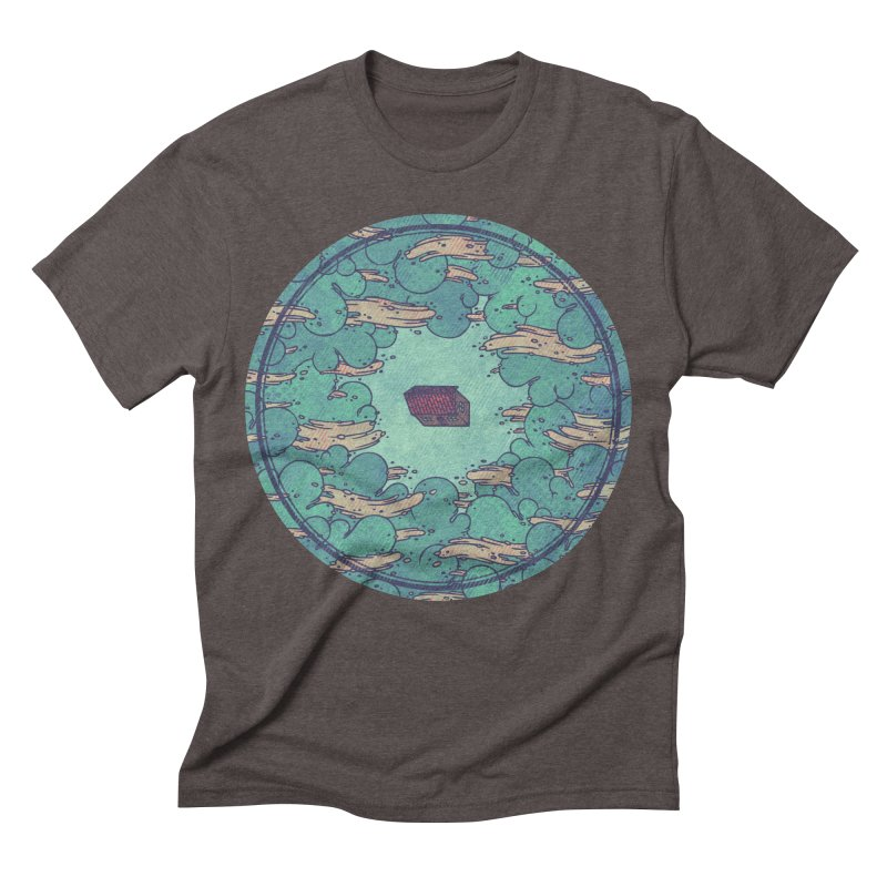 Away From Everything Men's Triblend T-shirt by againstbound's Artist Shop