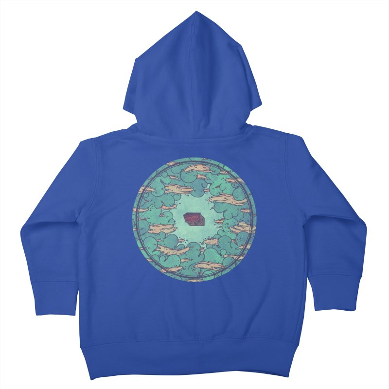 Away From Everything Kids Toddler Zip-Up Hoody by againstbound's Artist Shop