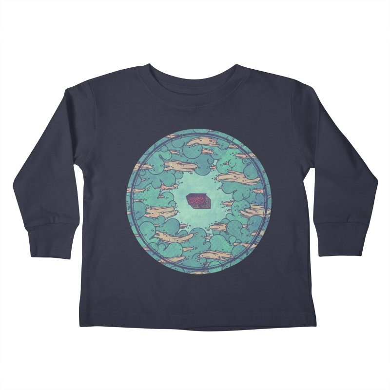 Away From Everything Kids Toddler Longsleeve T-Shirt by againstbound's Artist Shop