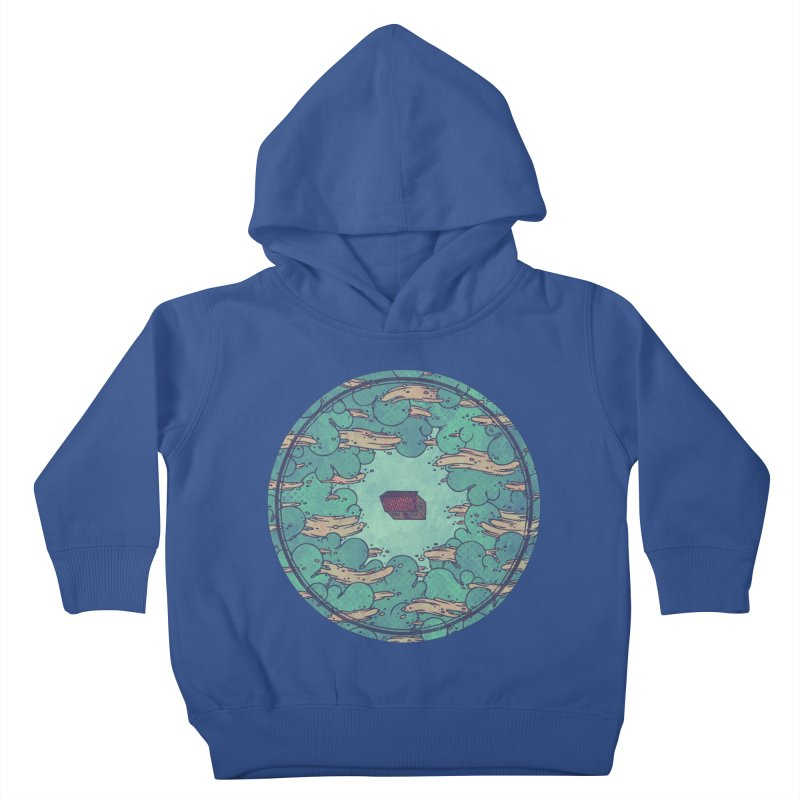 Away From Everything Kids Toddler Pullover Hoody by againstbound's Artist Shop