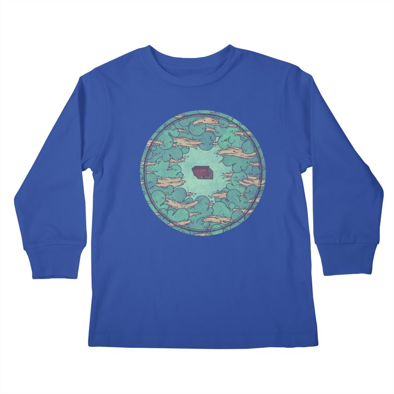 Away From Everything Kids Longsleeve T-Shirt by againstbound's Artist Shop