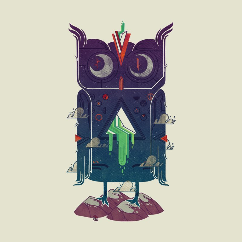 Night Owl Men's T-Shirt by againstbound's Artist Shop