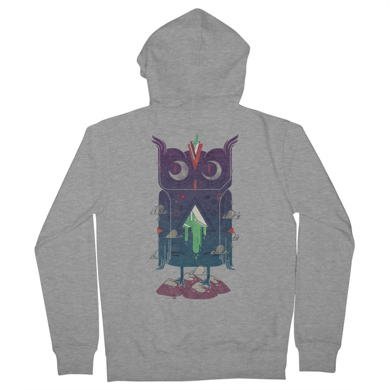 Night Owl Women's Zip-Up Hoody by againstbound's Artist Shop
