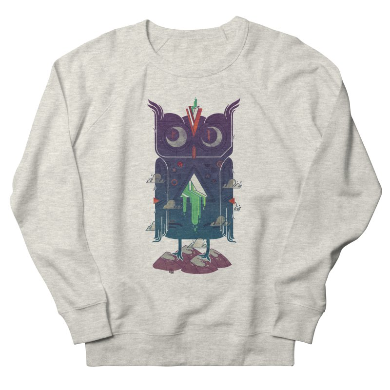 Night Owl Women's French Terry Sweatshirt by againstbound's Artist Shop
