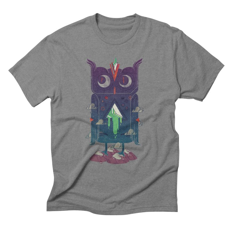 Night Owl Men's Triblend T-Shirt by againstbound's Artist Shop