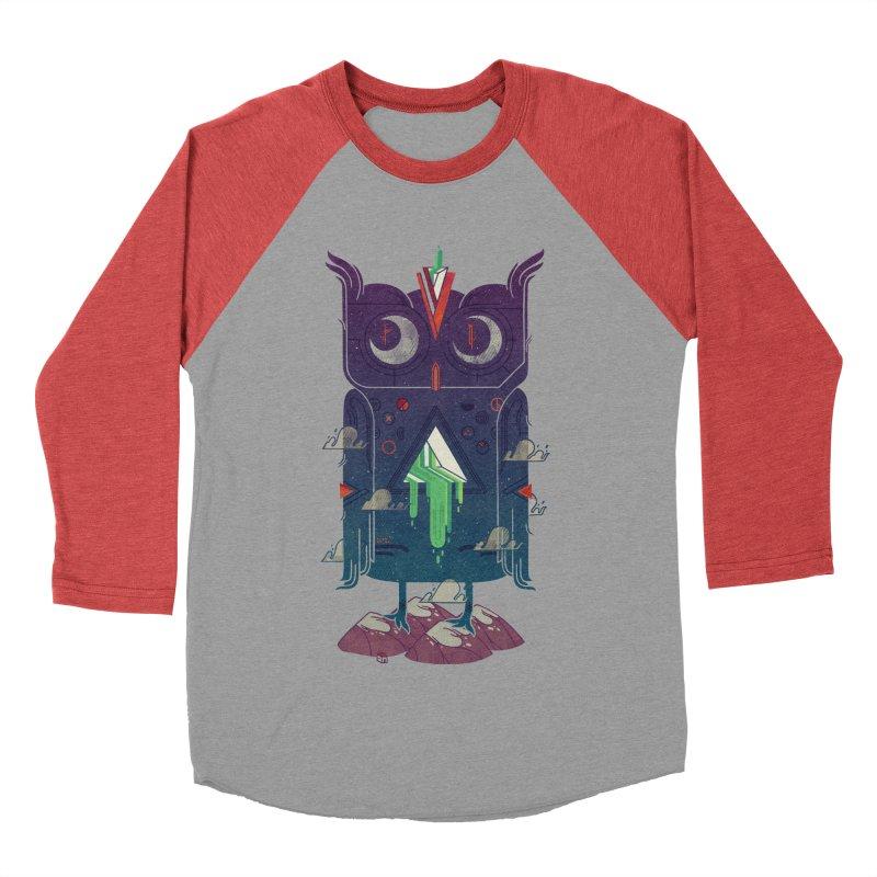 Night Owl Women's Baseball Triblend T-Shirt by againstbound's Artist Shop