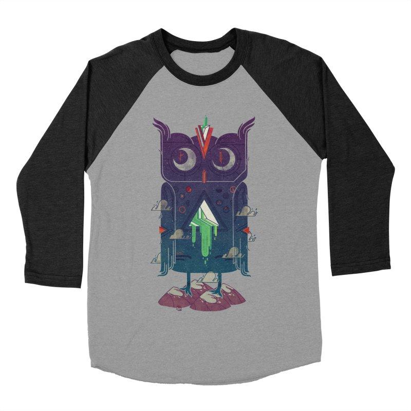 Night Owl Women's Baseball Triblend Longsleeve T-Shirt by againstbound's Artist Shop