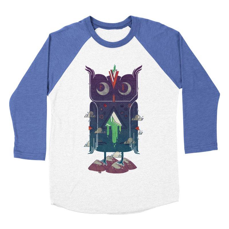Night Owl Men's Baseball Triblend T-Shirt by againstbound's Artist Shop