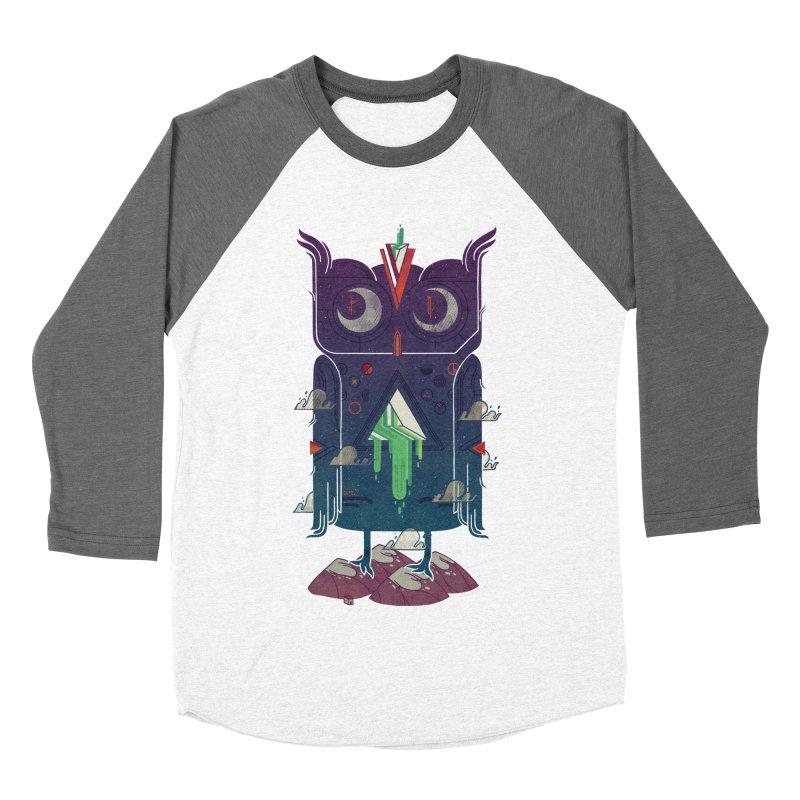 Night Owl Men's Baseball Triblend Longsleeve T-Shirt by againstbound's Artist Shop