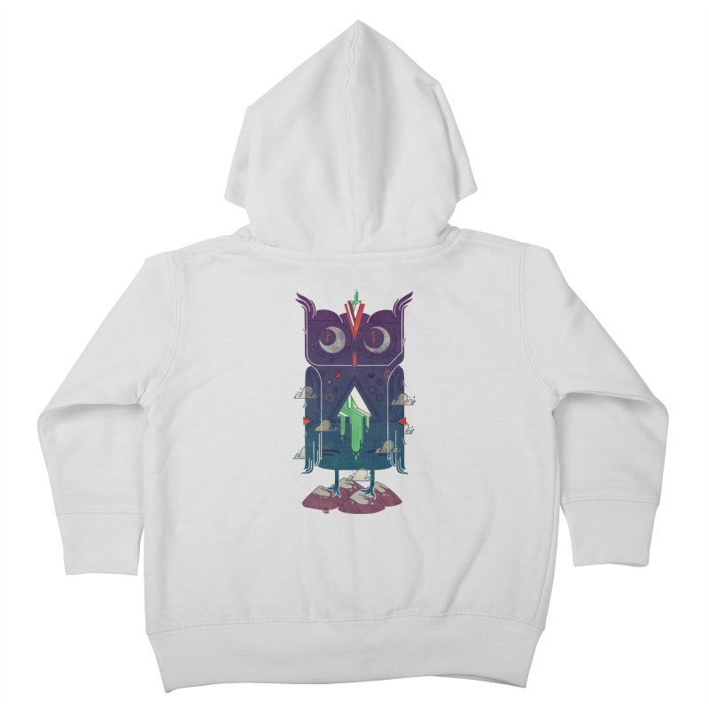 Night Owl Kids Toddler Zip-Up Hoody by againstbound's Artist Shop