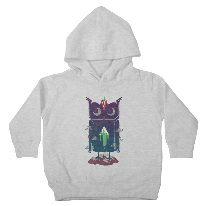 Night Owl Kids Toddler Pullover Hoody by againstbound's Artist Shop