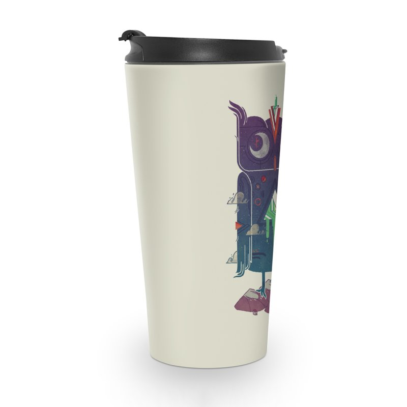 Night Owl Accessories Travel Mug by againstbound's Artist Shop