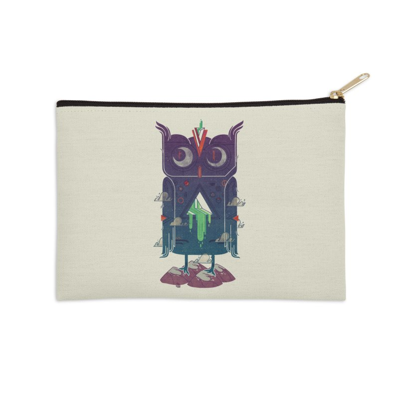 Night Owl Accessories Zip Pouch by againstbound's Artist Shop