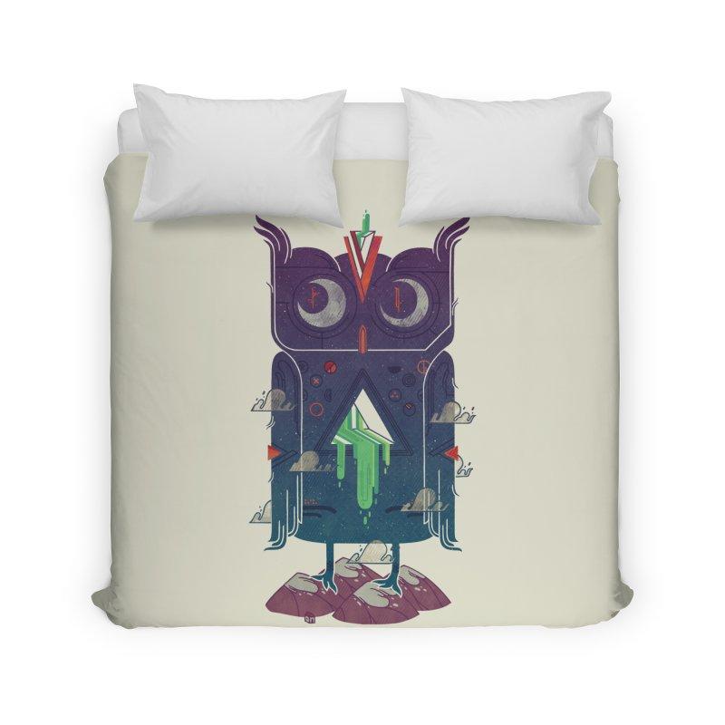 Night Owl Home Duvet by againstbound's Artist Shop