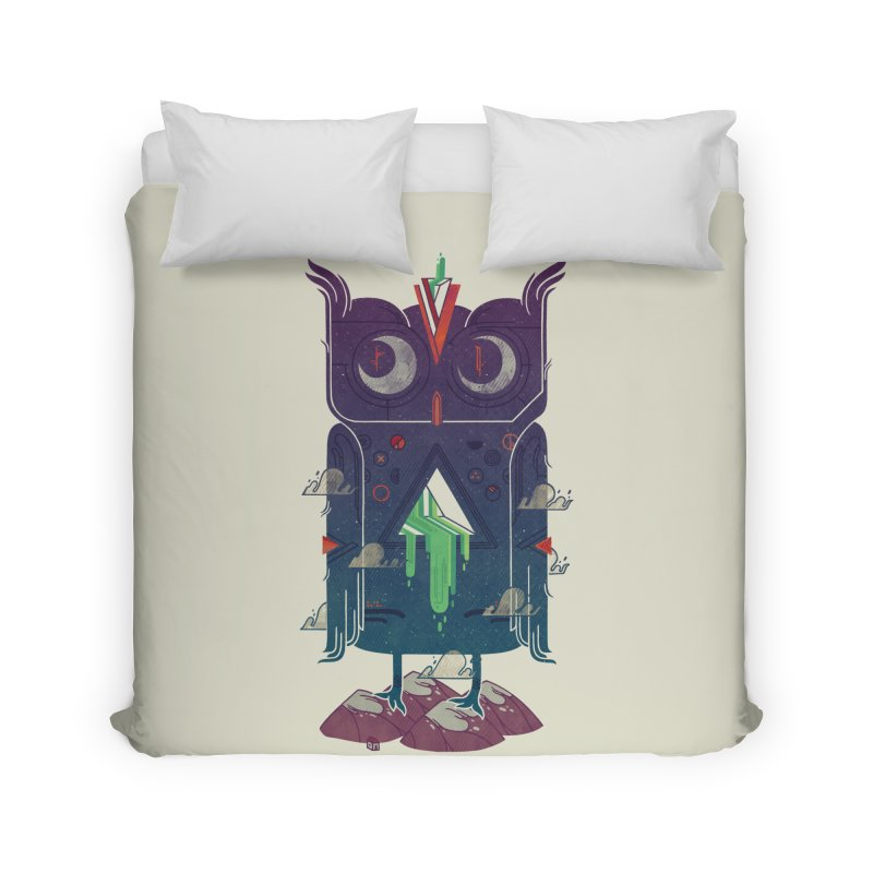 Night Owl Home Duvet by againstbound's Artist Shop
