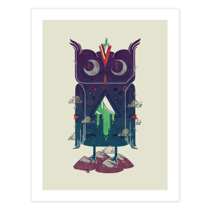 Night Owl Home Fine Art Print by againstbound's Artist Shop