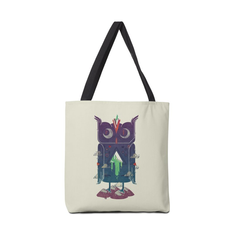 Night Owl Accessories Tote Bag Bag by againstbound's Artist Shop