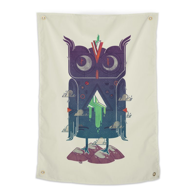 Night Owl Home Tapestry by againstbound's Artist Shop