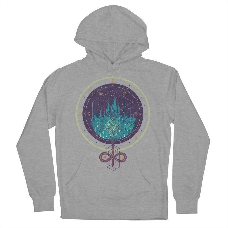 Fading Dahlia Women's French Terry Pullover Hoody by againstbound's Artist Shop