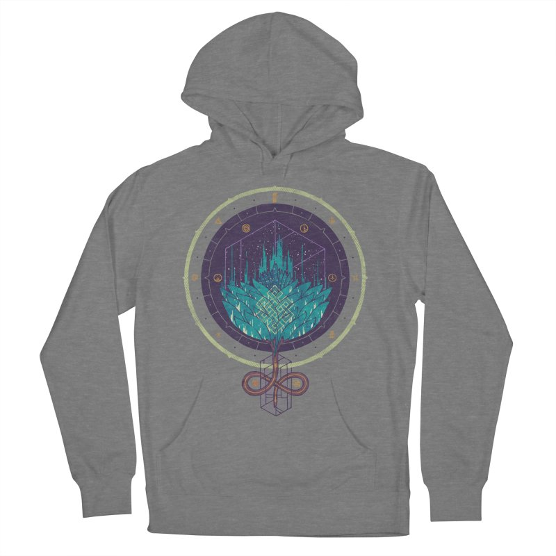 Fading Dahlia Men's French Terry Pullover Hoody by againstbound's Artist Shop