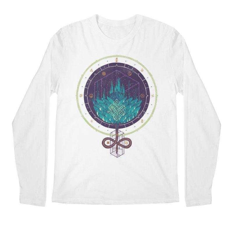 Fading Dahlia Men's Regular Longsleeve T-Shirt by againstbound's Artist Shop