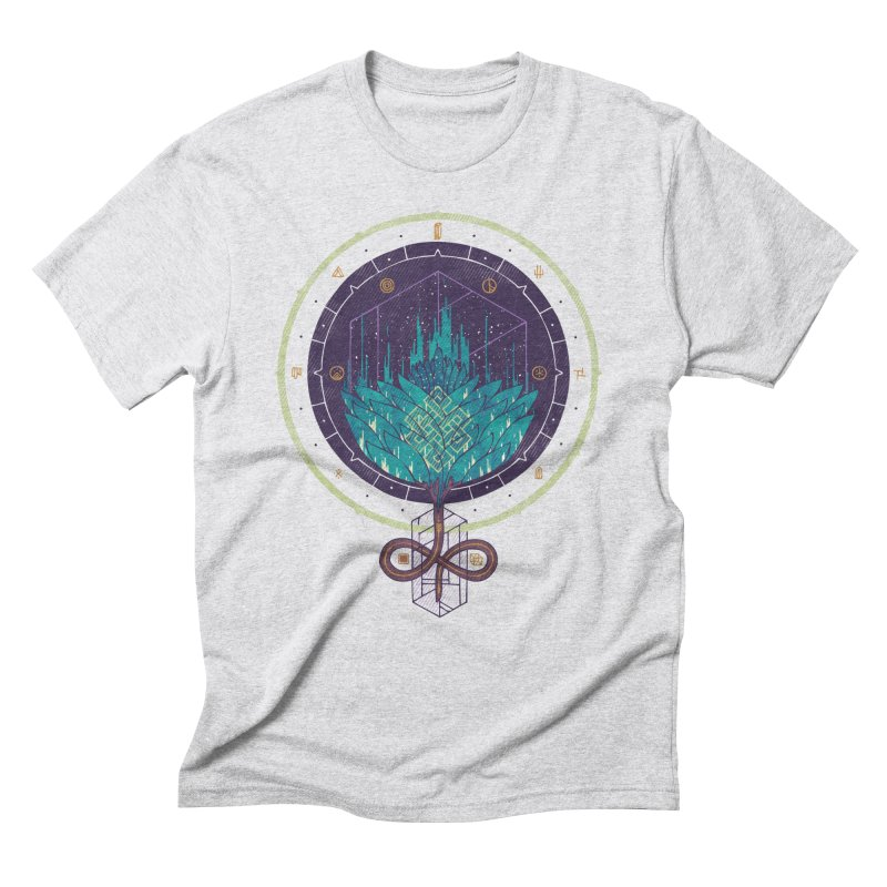 Fading Dahlia Men's Triblend T-Shirt by againstbound's Artist Shop