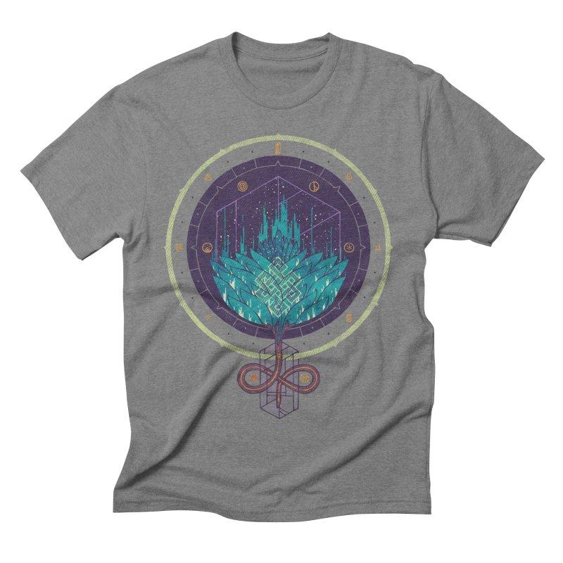 Fading Dahlia Men's Triblend T-shirt by againstbound's Artist Shop