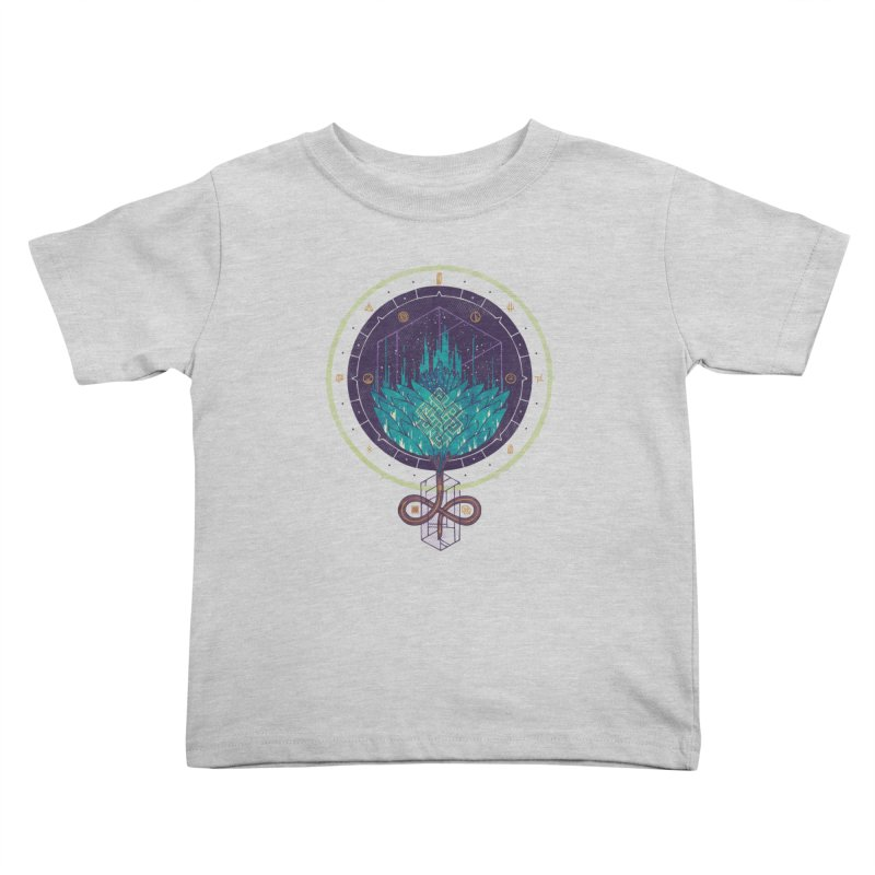Fading Dahlia Kids Toddler T-Shirt by againstbound's Artist Shop
