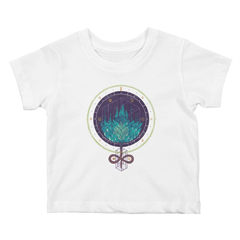 Fading Dahlia Kids Baby T-Shirt by againstbound's Artist Shop