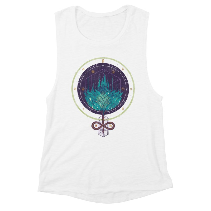 Fading Dahlia Women's Muscle Tank by againstbound's Artist Shop