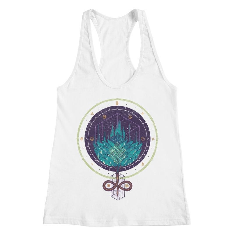 Fading Dahlia Women's Racerback Tank by againstbound's Artist Shop