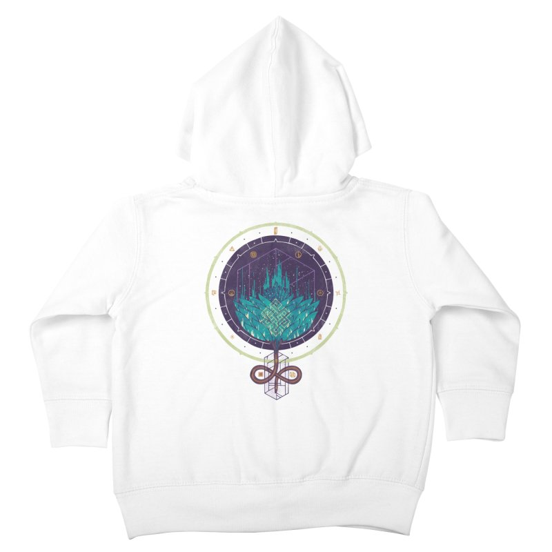 Fading Dahlia Kids Toddler Zip-Up Hoody by againstbound's Artist Shop