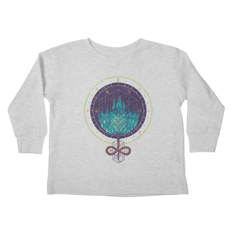 Fading Dahlia Kids Toddler Longsleeve T-Shirt by againstbound's Artist Shop