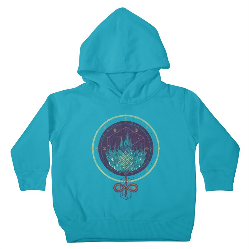 Fading Dahlia Kids Toddler Pullover Hoody by againstbound's Artist Shop