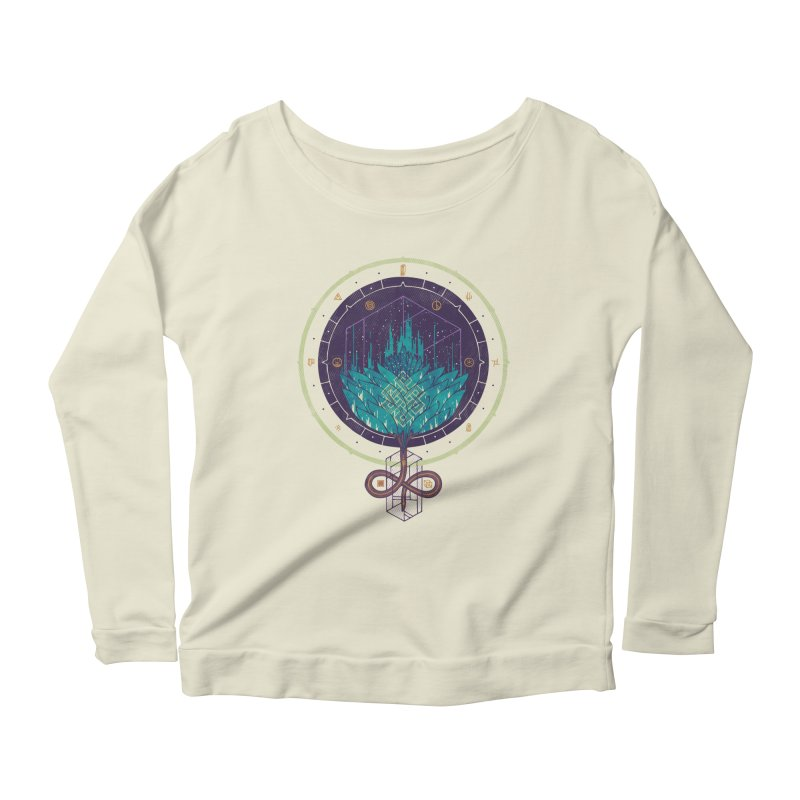 Fading Dahlia Women's Scoop Neck Longsleeve T-Shirt by againstbound's Artist Shop