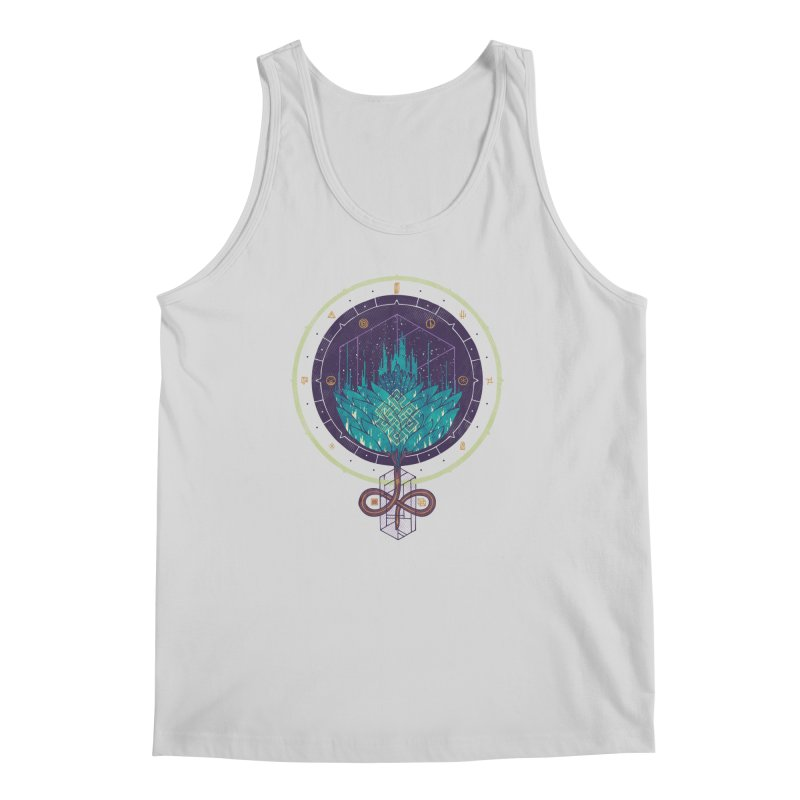 Fading Dahlia Men's Regular Tank by againstbound's Artist Shop