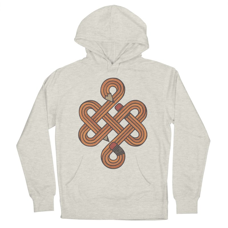 Endless Creativity Men's French Terry Pullover Hoody by againstbound's Artist Shop