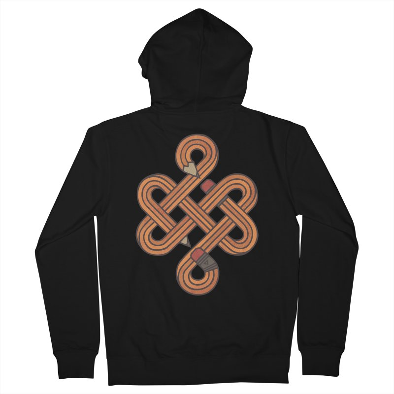 Endless Creativity Women's French Terry Zip-Up Hoody by againstbound's Artist Shop