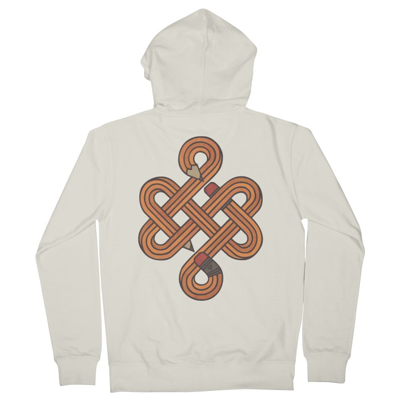 Endless Creativity Men's French Terry Zip-Up Hoody by againstbound's Artist Shop