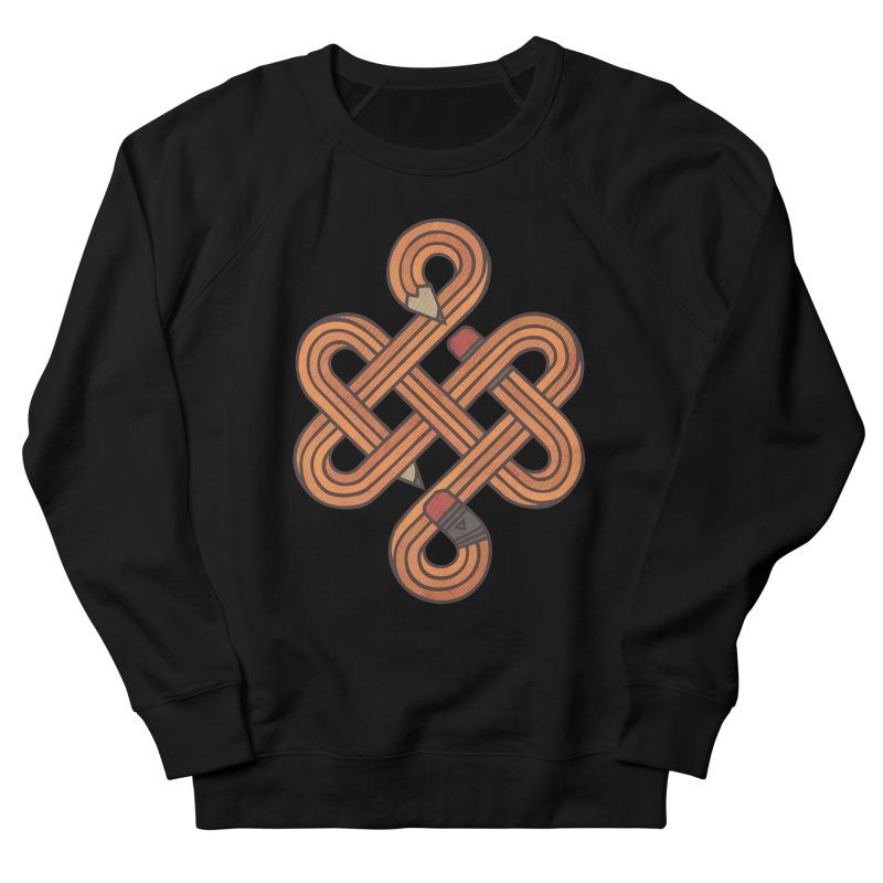 Endless Creativity Women's French Terry Sweatshirt by againstbound's Artist Shop