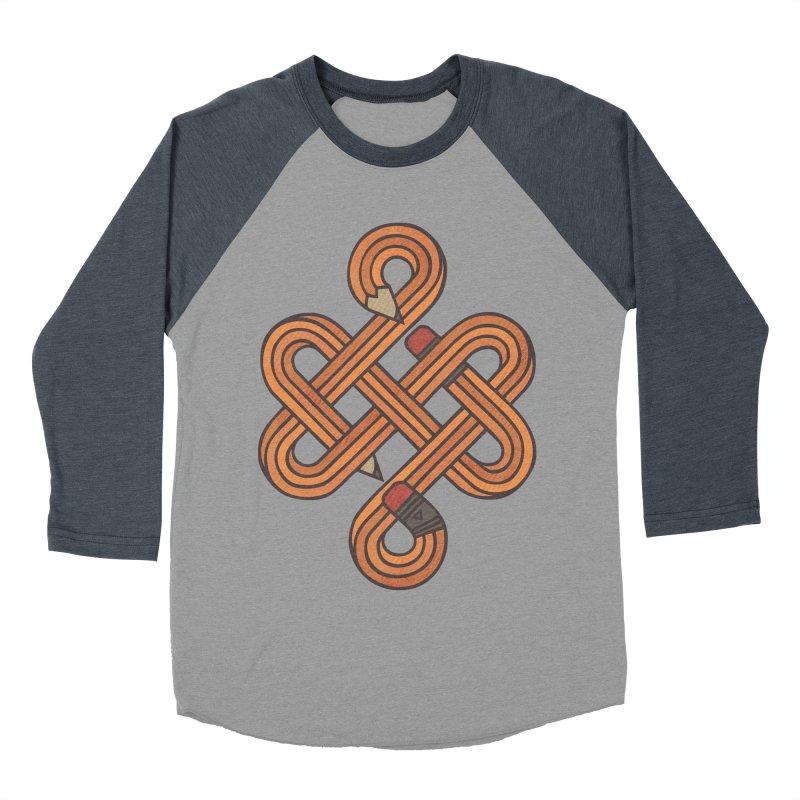 Endless Creativity Men's Baseball Triblend Longsleeve T-Shirt by againstbound's Artist Shop