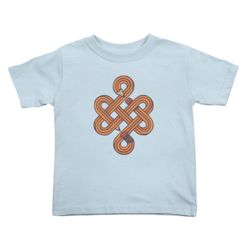 Endless Creativity Kids Toddler T-Shirt by againstbound's Artist Shop
