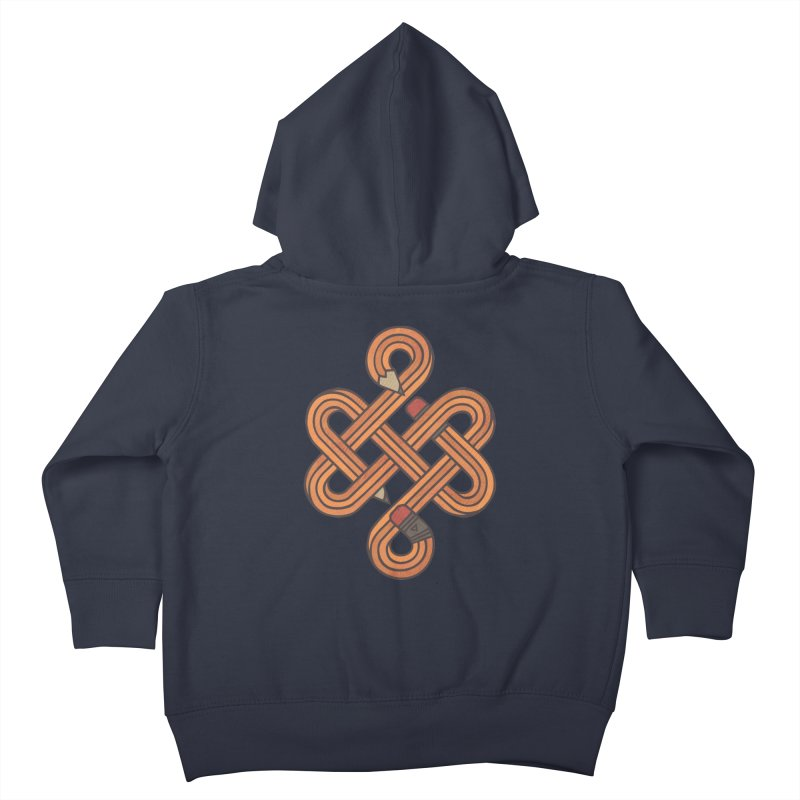 Endless Creativity Kids Toddler Zip-Up Hoody by againstbound's Artist Shop