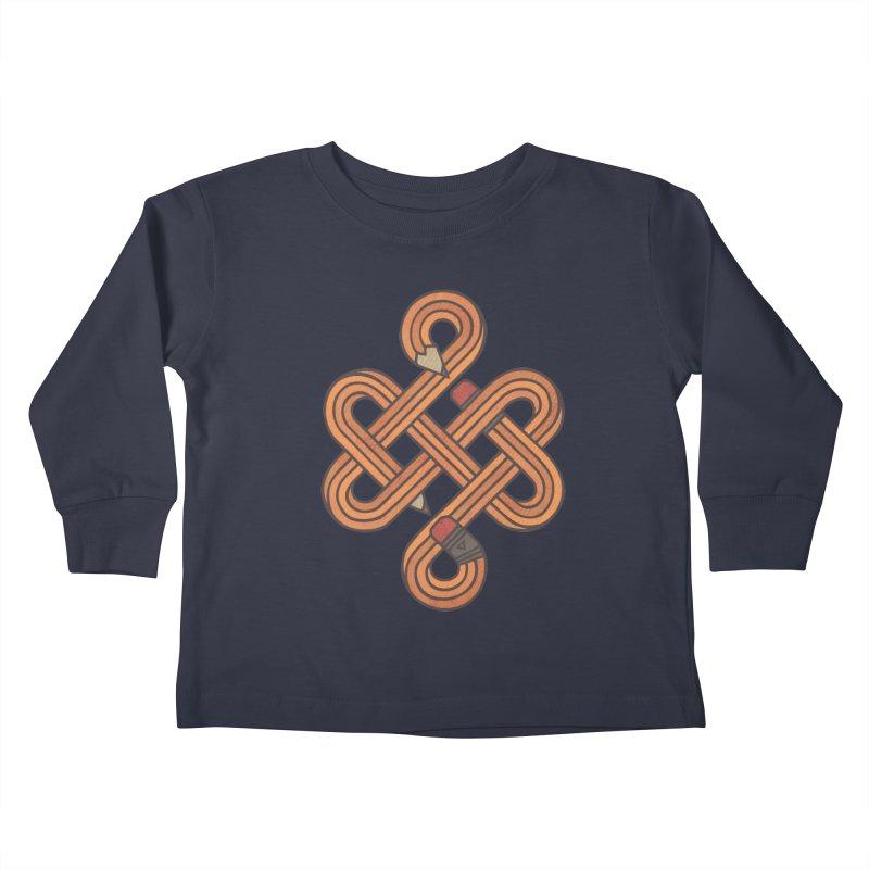 Endless Creativity Kids Toddler Longsleeve T-Shirt by againstbound's Artist Shop