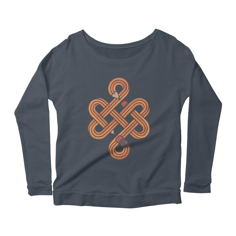 Endless Creativity Women's Scoop Neck Longsleeve T-Shirt by againstbound's Artist Shop