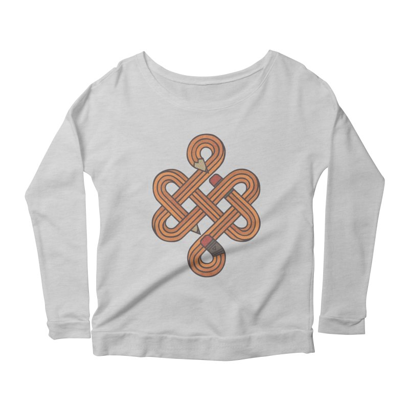 Endless Creativity Women's Scoop Neck Longsleeve T-Shirt by againstbound's Artist Shop