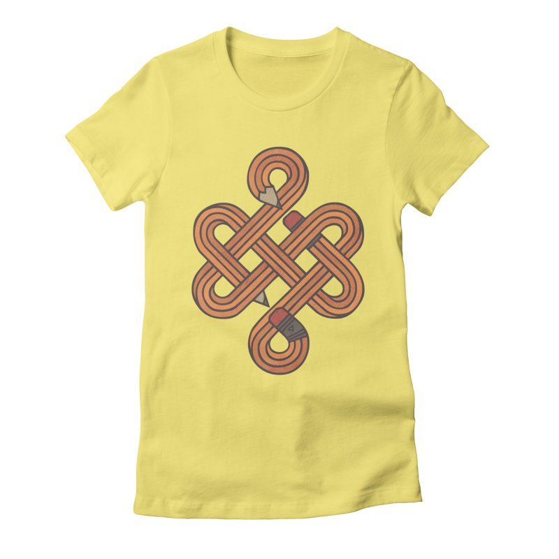 Endless Creativity Women's Fitted T-Shirt by againstbound's Artist Shop