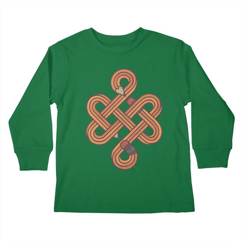 Endless Creativity Kids Longsleeve T-Shirt by againstbound's Artist Shop