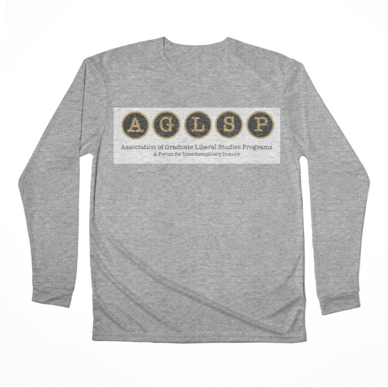 AGLSP New Logo, 2019 Men's Performance Longsleeve T-Shirt by AGLSP's Swag Shoppe